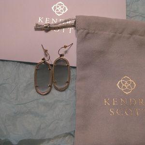 Kendra Scott Elle Earrings - Gray Slate